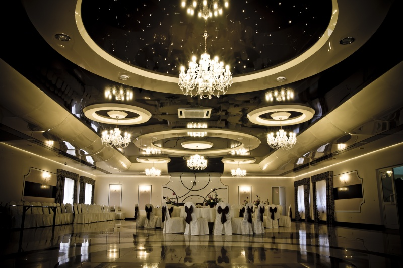 Wall Designs For Banquet Hall : Banquet hall ceilings