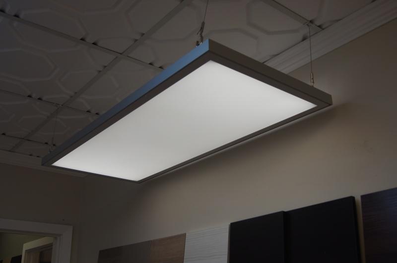 Picture ceiling light tiles tile designs modular light panels mozeypictures Images